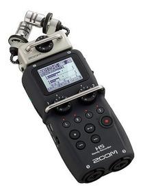 Gravador Digital Zoom H5 Handy Recorder + Acessórios + 8gb