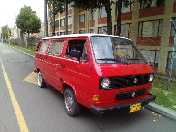 Volkswagen Transporter Modelo 1980, Motor 1.8 Inyectado