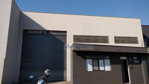 Imagem 1 de 5 de Barracão Para Alugar, 680 M² Por R$ 6.000,00/mês - Indústrias Leves - Londrina/pr - Ba0104