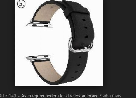 Pulseira De Couro Genuino Do Relogio Apple Watch