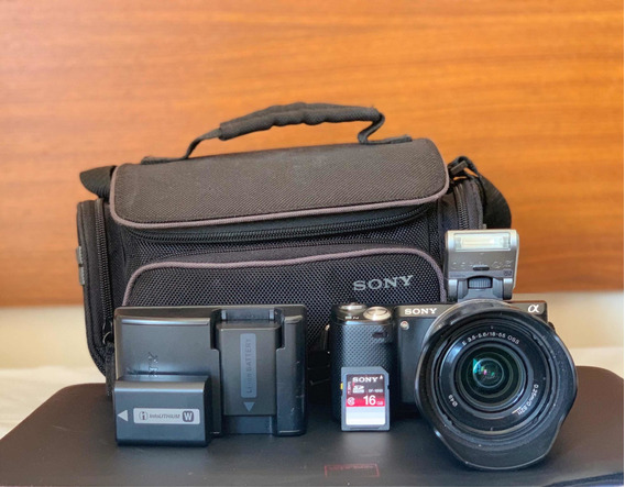 Kit Fotográfico - Câmera Sony Nex-5n