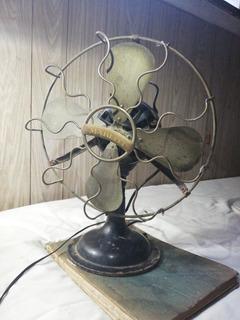 Antiguo Ventilador Marelli Año 1930 Original Funcionando