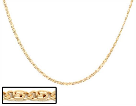 Corrente Folheado A Ouro Rommanel Diamantada 530336