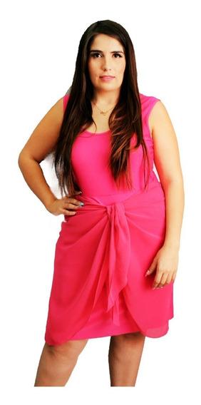 Vestido De Dama Tallas Extras # 6462 (falda Transformer)