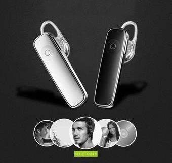 Fone De Ouvido Stereo Sem Fio Bluetooth 4.0 Completo Cx50