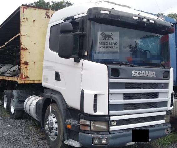 Scania R-124 Ga 360 Nz - 00/00 - Cavalo Truck, Cab. Leito *