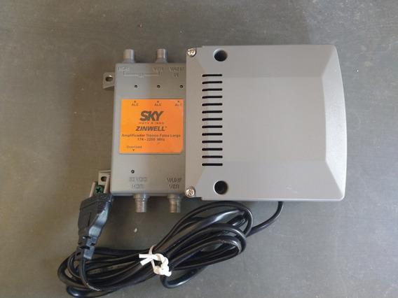 Kit 1 Amplificador 5 Chave Comutador 1 Lnb