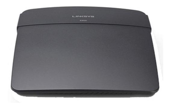 Router Linksys Wifi N300 E900 4p 10/100 2 Antenas Internas