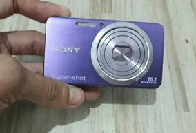 Câmera Cybershot Dsc - W630 16.1 Mp Filma Hd + Frete