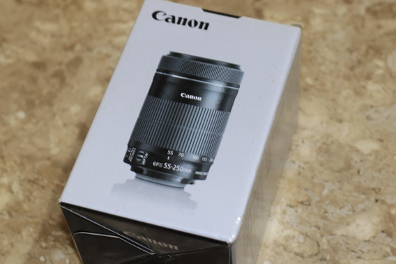 Canon Efs 55-250mm F/4-5.6 Is Stm