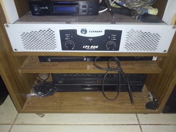 Amplificador Crown Lps-800 600wrms 4ohms