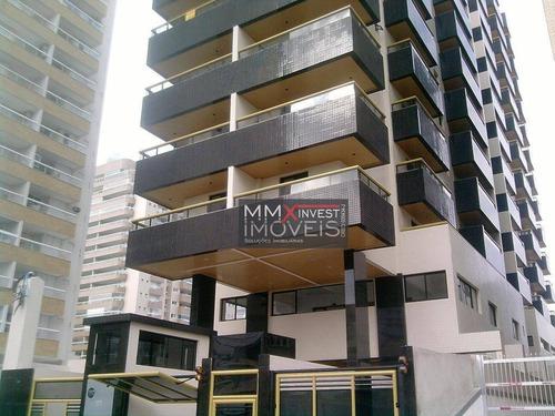 Imagem 1 de 17 de Apartamento Com 2 Dormitórios À Venda, 89 M² Por R$ 390.000,00 - Vila Caiçara - Praia Grande/sp - Ap0709