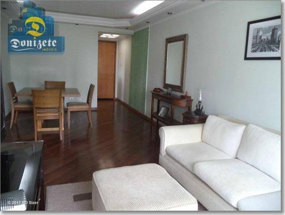 Apartamento Residencial À Venda, Jardim, Santo André. - Ap7044