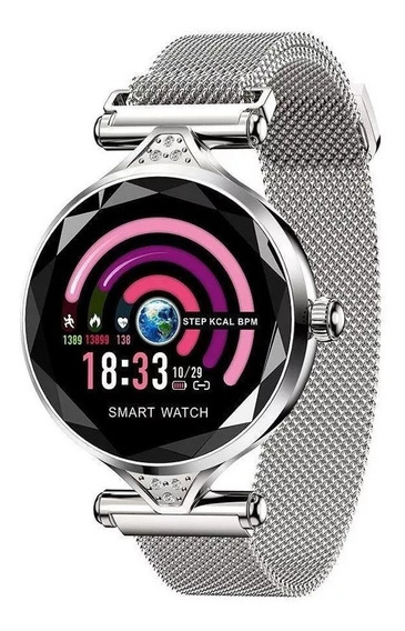 Fralugio Smart Watch Deluxe Para Mujer Compatible iPhone 7