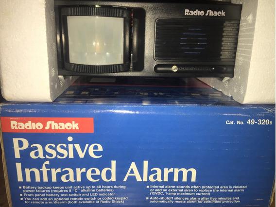 Alarma Radio Shack 49-320 Sensor De Movimiento Infrarrojo