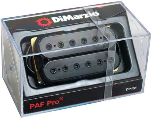 Imagen 1 de 6 de Micrófono Guitarra Dimarzio Dp151 Paf Pro Cuotas