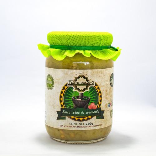 Salsa Verde De Xoconostle 250g