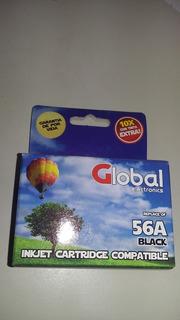 Cartucho 56 Xl Negro Global 1210 7760 5650 5850