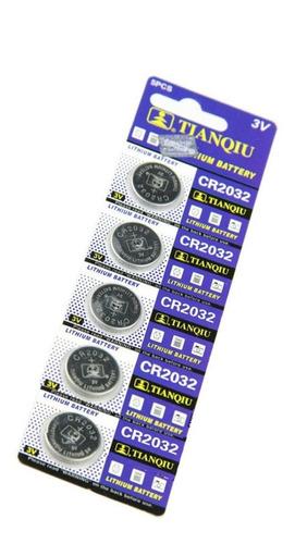 Bateria Pila Boton Pc  3v Control 2032 X 10 Unid  2 Blister