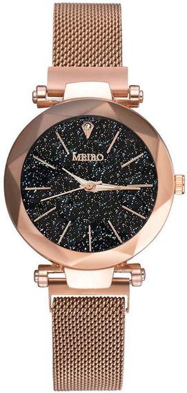 Relógio Pulso Fashion Meibo - Pulseira Imã