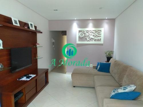 Imagem 1 de 22 de Sobrado 3 Dormitórios 1 Suíte Vila Linda - Ca00761 - 69346096