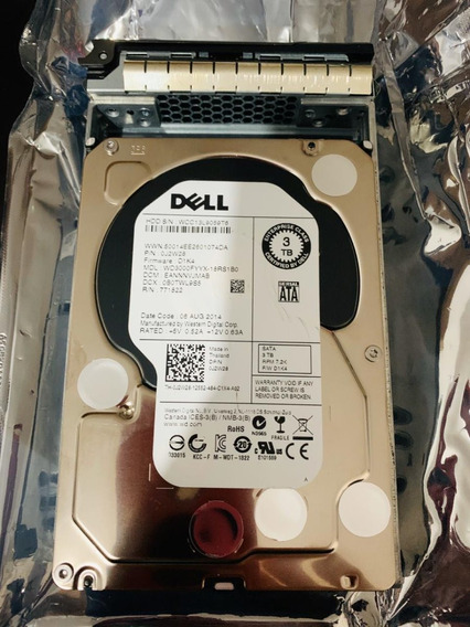 Hdd Dell Enterprise Class 3 Tb Dp/n: 0j2w28 Com Gaveta