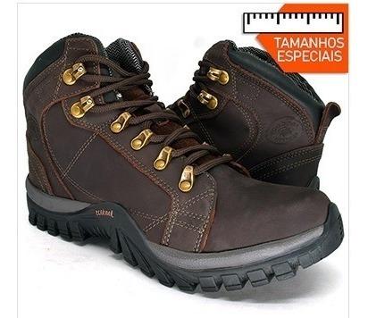 Boot Tamanho Especial 45 Ao 48 De Couro