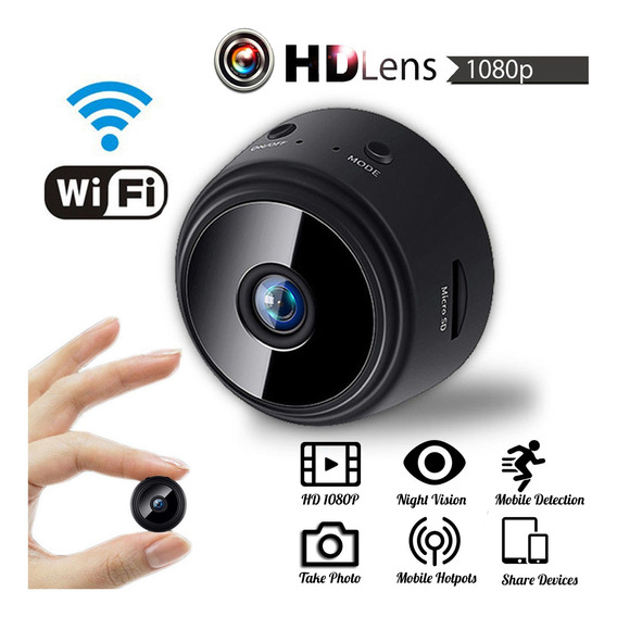 Mini Hd 1080p Sem Fio Wifi Ip Casa Segurança Camcorde Camco