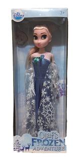 Frozen Disney Muñeca De Elsa 28 Cm De Alto - Blister Nuevo