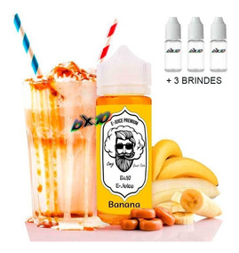 3 Essencia Liquida Para Cigarro Eletrônico 0mg
