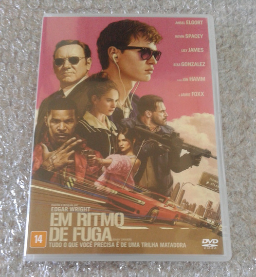 Dvd - Em Ritmo De Fuga - Não Lacrado - Dublado (frete R$10)