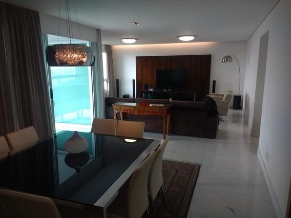 Apartamento Com 4 Quartos Para Alugar No Vila Da Serra Em Nova Lima/mg - 18693