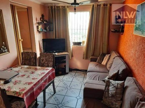 Apartamento Com 2 Dormitórios À Venda, 45 M² Por R$ 180.200,00 - Jardim Lallo - São Paulo/sp - Ap3598