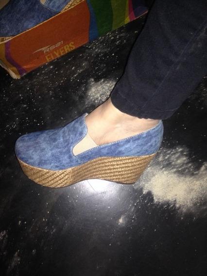 Zapatos Plataformas De Dama