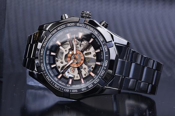 Relógio De Luxo Marca Winner Importado Frete Grátis