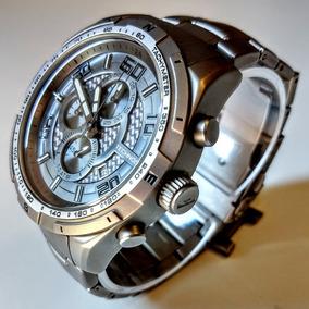 Relógio Technos Titânio Cronógrafo Modeloos1aad Masculino
