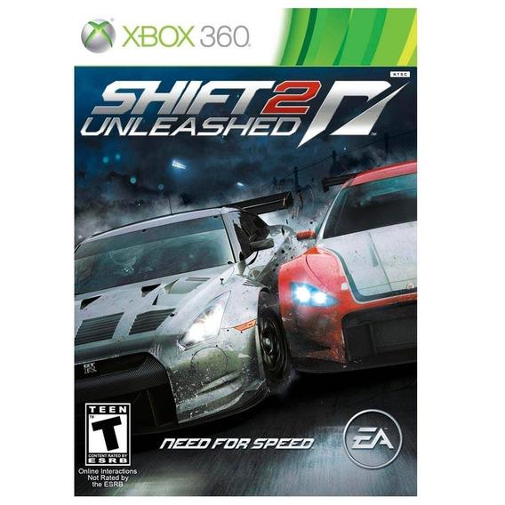Jogo Need For Speed Shift 2 Unleashed Xbox 360 Mídia Física