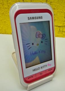 Celular Samsung Hello Kitty ( Telcel ) Impecable