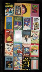 Lote Com 40 Livros Infanto Juvenis Diversos