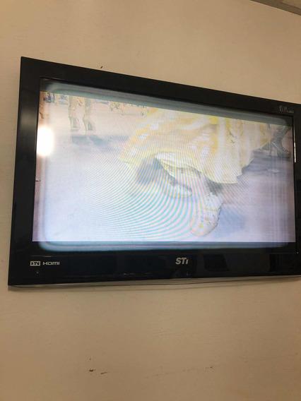 Tv Sti Toschiba 32 Com Defeito Na Tela - Retirar Peças
