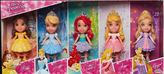 Princesas Muñecas Mini Toddler Set De Regalo