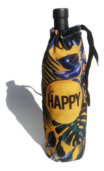 Funda Para Botella Be Happy
