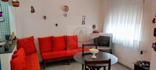 Imagem 1 de 17 de Kitnet Com 1 Dormitório À Venda, 38 M² Por R$ 240.000,00 - Embaré - Santos/sp - Kn0297