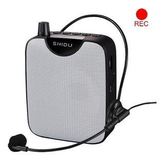 Amplificador Microfono Vincha Portatil Parlante Usb Grabador
