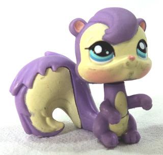 Littlest Pet Shop Original Ardilla Violeta Hasbro