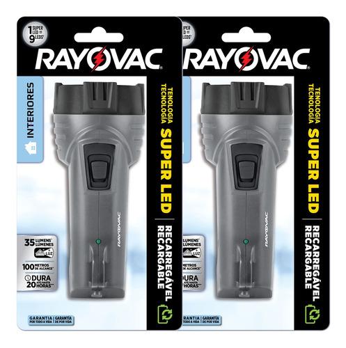 Imagem 1 de 8 de 02 Lanternas Interiores Super Led Mini Rayovac