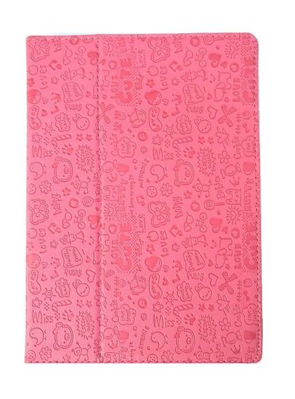 Kit 12 Capa iPad 5 Case iPad Air 1 Couro Sintetico Rosa Pink