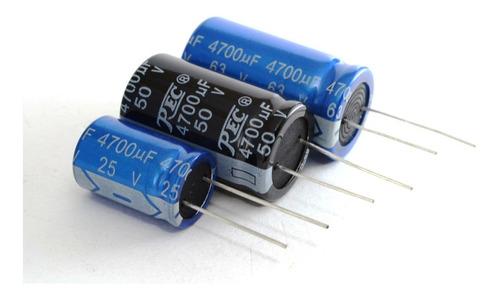 Imagen 1 de 2 de Capacitor Electrólitico 4700uf X 35v 18*35 X5 Unidades