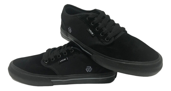 Zapatillas Vicus Folk Full Black Negro