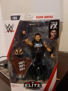 Figura Kevin Owens Elite 66 Wwe Mattel Lucha Libre Nueva